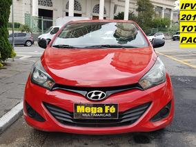 Hyundai Hb20 1.0 Comfort Plus Flex 5p Vermelho 2013