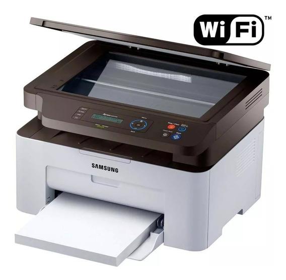 Multifuncional Samsung Laser Mono Sl-m2070w 20ppm/cm Wi-fi