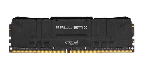 Imagem 1 de 1 de Memoria Ram 8gb Ddr4 3000mhz Crucial Ballistix Preta