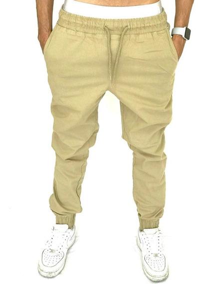 Calça Jeans Masculina Jogger Com Punho Elastico Novas Cores