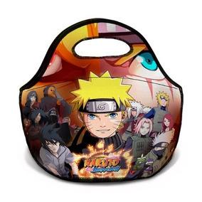 Lancheira Bolsa Térmica Naruto Unissex Pronta Entrega