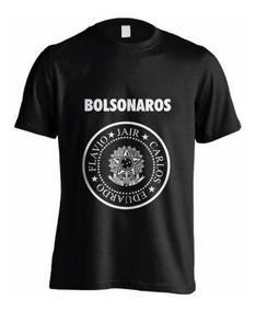 Camisa Bolsonaro Presidente - Bolsonaros - Cod= 2