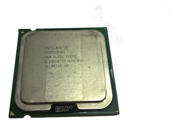 Lote 7 Processadores Pentium 4 Intel 640 3.2ghz 2m 800mhz.