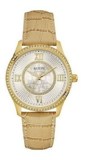 Relógio Feminino Guess Couro 92594lpgddc1z Original C/ Nfe