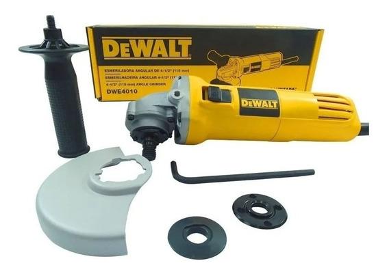 Miniesmeriladora 4 1/2 Dewalt Dwe4010-b3 (sbd)