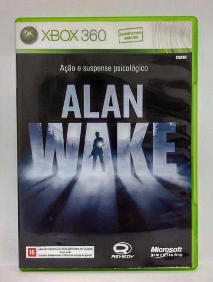 Alan Wake Jogo Xbox 360 Usado Midia Fisica