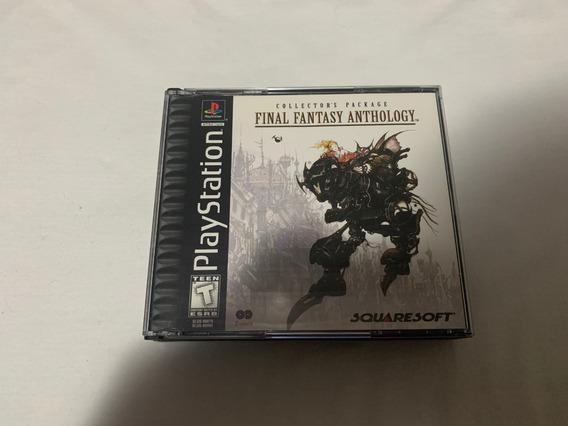 Final Fantasy Anthology Ps1 Original Completo
