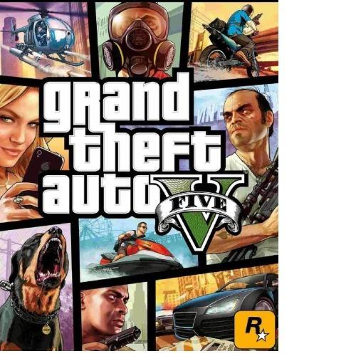 Grand Theft Auto V-gta V-pc-dvd(midia Fisica)