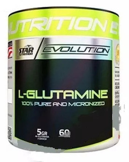 Glutamina 300 Grs Star Nutrition (solo Rosario) Fitworld