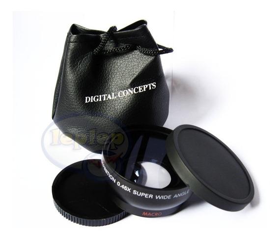 Grande Angular + Macro 55mm Nikon D5600 D5500 D5200 D5300