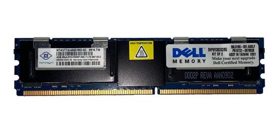 Memoria Ecc Fb-dimm 4gb Pc2-5300f Dell Poweredge 2900 / 2950