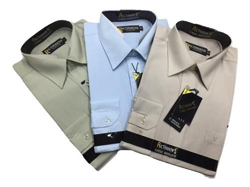 Imagen 1 de 2 de Camisa Lisa Hombre Promocion