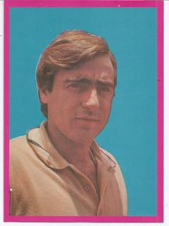 Cartão Antigo Luiz Gustavo - Anos 70 - Medindo 18x13cm.