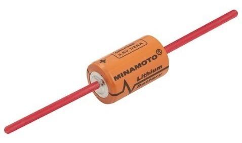 Bateria Pilha 1/2aa 3,6v 1200mah Lithium Cna Pci - Minamoto
