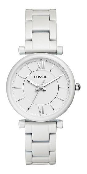 Relógio Fossil Feminino Carlie Prata - Es4401/1bn
