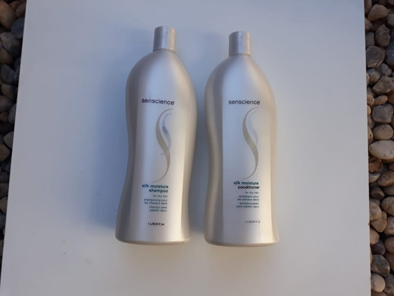 Kit Senscience Silk Moisture Shampoo+condicionador 1l
