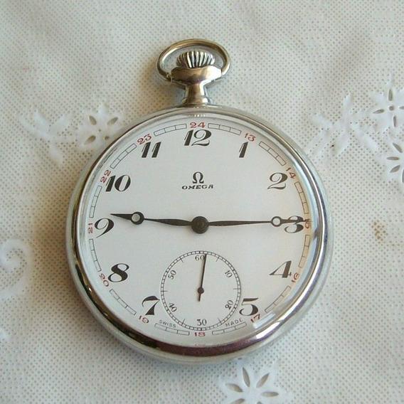 Relógio De Bolso Omega.