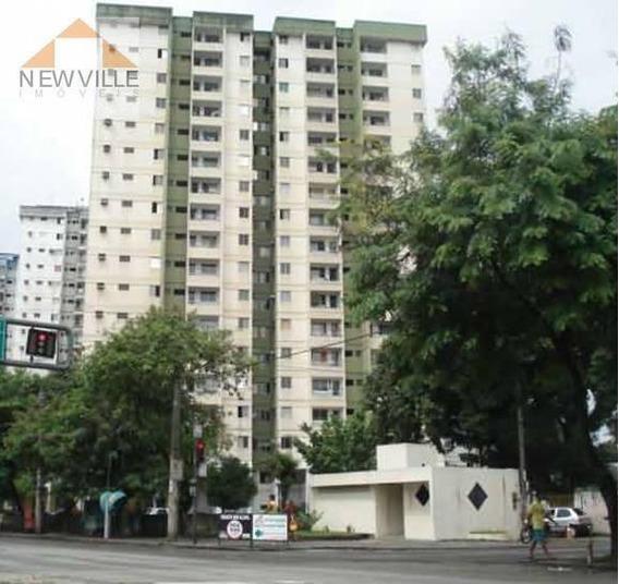Apartamento Com 2 Quartos Para Alugar, 62 M² Por R$ 1.012/mês - Caxangá- Recife/pe - Ap1138