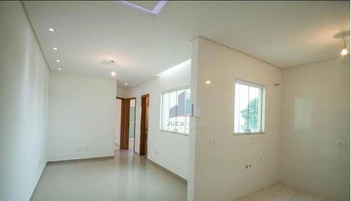 Cobertura Com 2 Dormitórios Para Alugar, 70 M² Por R$ 1.550,00/mês - Parque Novo Oratório - Santo André/sp - Co0085
