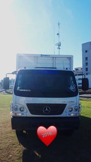 Mercedes-benz Accelo 815 2016 57000km Primera Mano