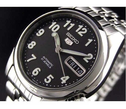 Relógio Seiko 5 Automático Estilo Militar Snk381 Snk381k1 Yv