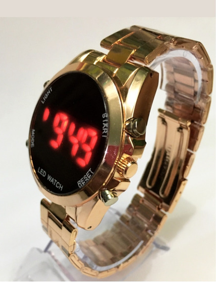 Relógio Importado Digital Led Masculino Feminino Hora Data