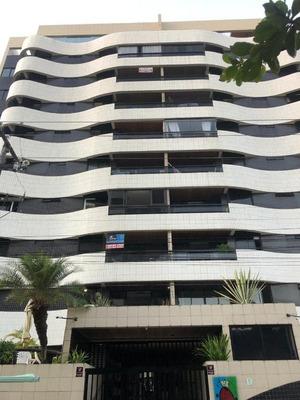 Excelente Apartamento Com 3 Suítes Na Ponta Verde - Ap0478