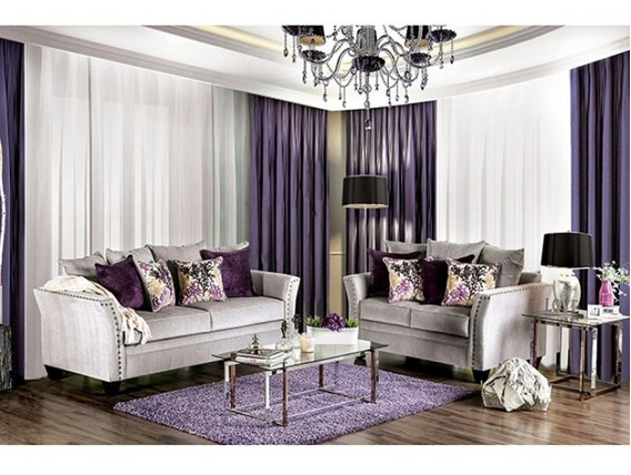 Sala Oliviera Preciosa Sofa & Love Seat Sm6204