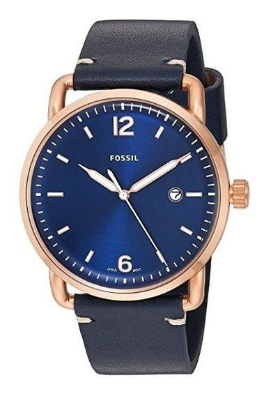 Relógio Fossil Masculino The Commuter 3h Date Fs5274/3an