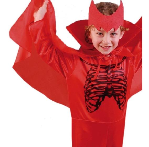 Disfraz Halloween Diablito Diablita Nena Disfraces Quinotoys