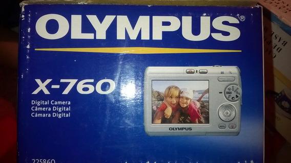 Camara Digital Olympus X-760 6.0 Megapixel Como Nueva