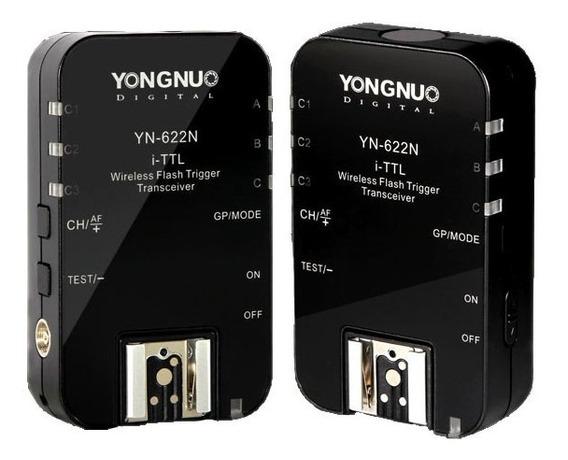Rádio Flash Yongnuo Weireless Yn-622n Ii I-ttl Para Nikon Nf