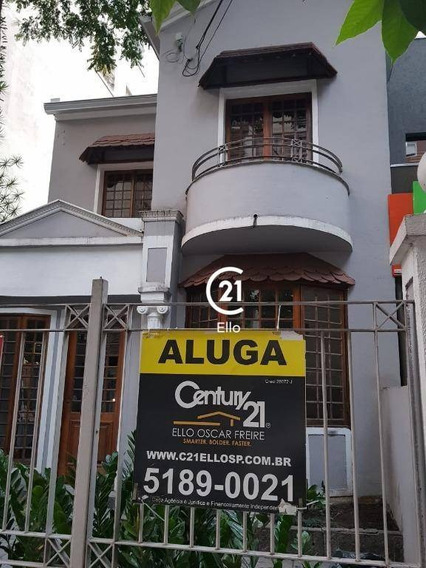 Casa Para Alugar, 130 M² Por R$ 12.000,00/mês - Jardim América - São Paulo/sp - Ca0834