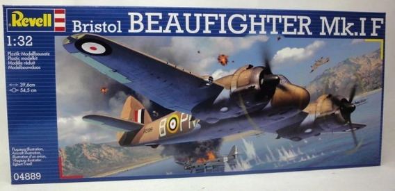 Bristol Beaufighter Mk.i F 1/32 Marca Revell--envio Gratis--