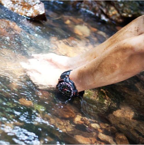 Relógio De Pulso Epozz Ep-1311 Importado Cinza E Preto