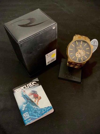 Relógio Detroit Dourado Automático