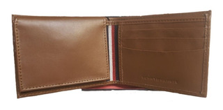 Carteira Masculina Tommy Hilfiger Leather Wallet & Valet