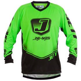 Camisa Piloto Motocross - Trilha - Jett Hi Vis - Verde Neon