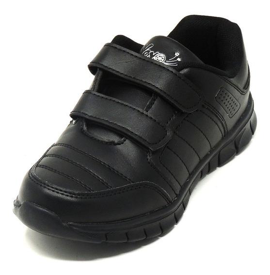 Zapatos Dep. Escolares Yoyo 14151v Blanco 24-31 Envío Gratis