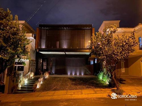 Casa À Venda, 275 M² Por R$ 1.600.000,00 - Condomínio Villa Dos Inglezes - Sorocaba/sp - Ca1798