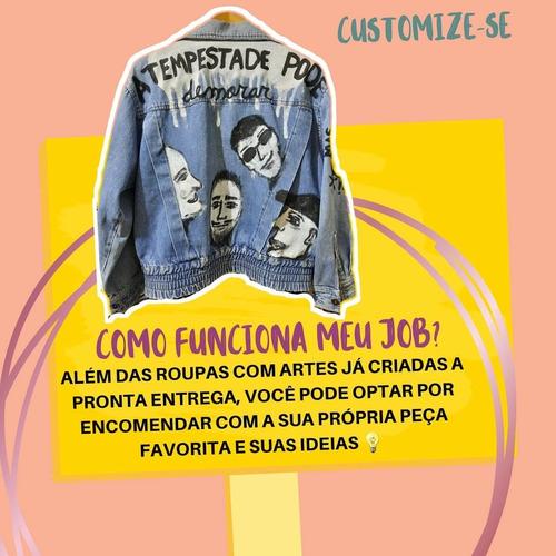 Aulas De Customização Em Peças Jeans