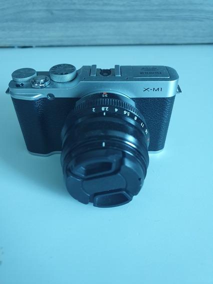 Câmera Fujifilm Xm1 Com Lente 35mm F2