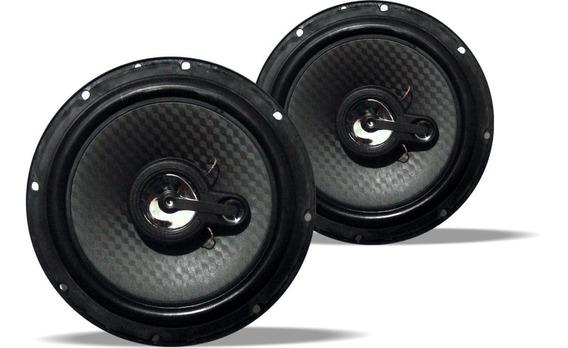 Kit Auto Falante Tk Áudio 6 Polegadas 220w Triaxial Tk-1001