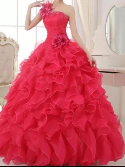 Vestido Debutante Rosa Pink