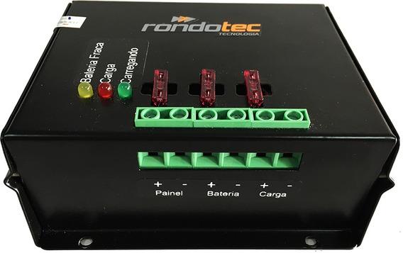 Controlador De Carga Solar 12/24v 40a 1000w Rondotec