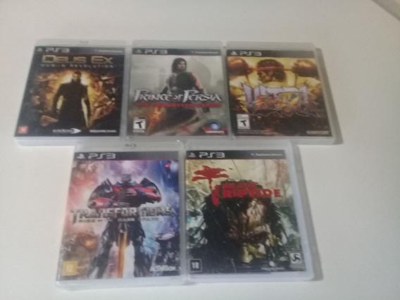Lote 10 Games Ps3 Original.