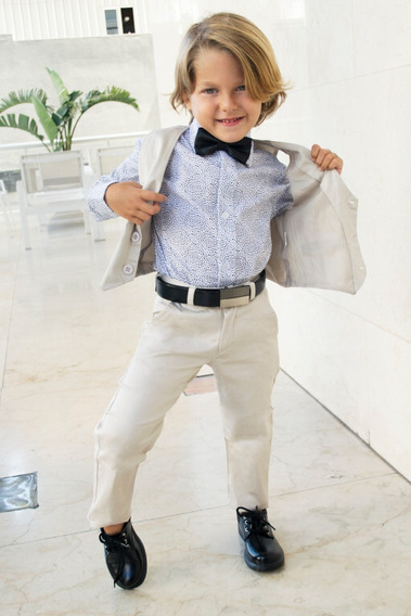 Chaleco De Vestir Slim Fit Niño Y Juvenil