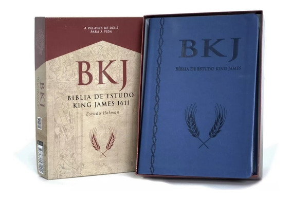 Bíblia Sagrada De Estudo Rei King James 1611 Holman