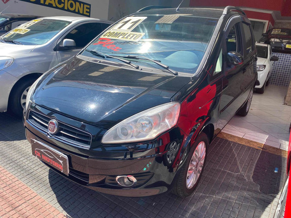 Fiat Idea 1.4 Attractive Flex 5p 2011 *financie Sem Entrada*