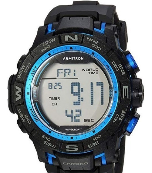 Armitron Sport 40/8410 - Reloj De Pulsera Digital Hombre